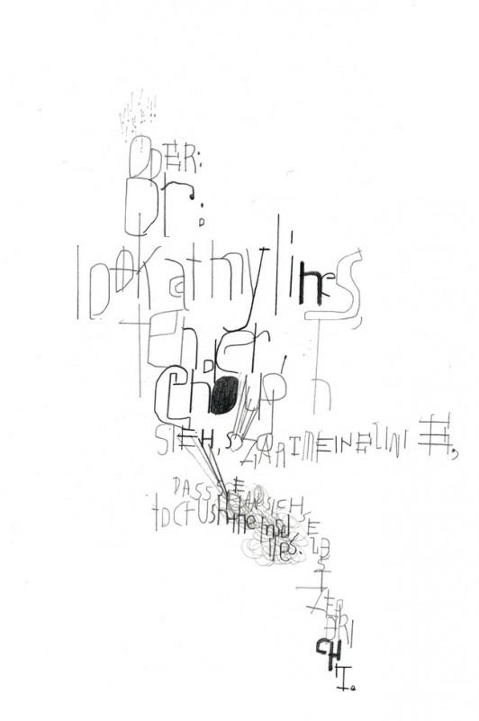 Linie // Großdruck No. 9