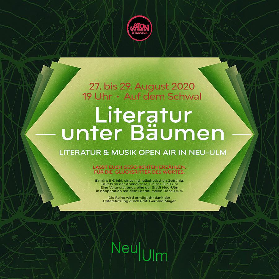 Literatur unter Bäumen - Open Air in Neu-Ulm