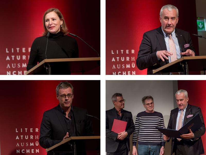 Preisverleihung im Münchner Literaturhaus