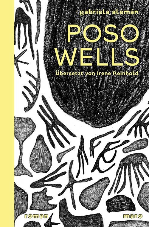 Cover Poso Wells Roman von Gabriela Alemán MaroVerlag